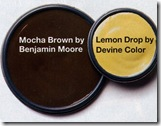 mocha brown by benjamin moore