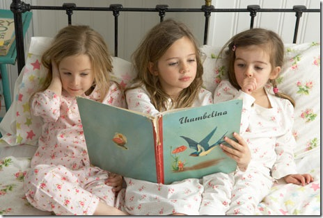3 girls by Claire Richardson