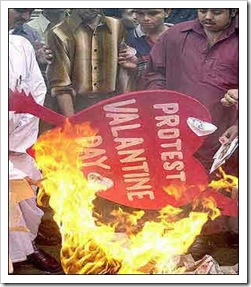 Valentine's Day Protest in India