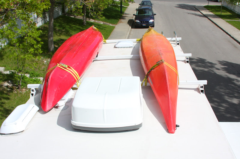 New RVNet Open Roads Forum FifthWheels Kayak Transport