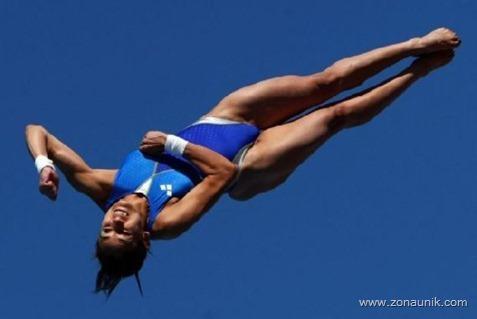 Lompat Indah lucu (2)