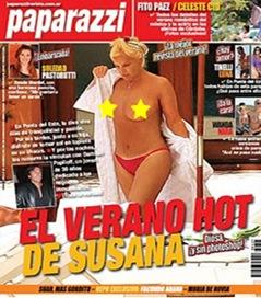 Topless de Susana Gimenez