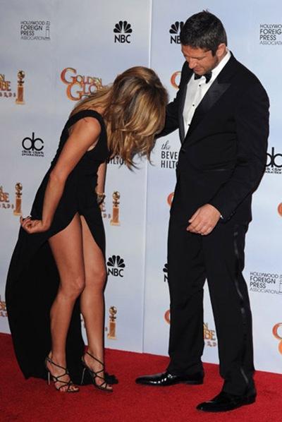 Espectacular vestido de Jennifer Aniston