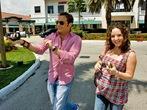 Ismael y Virna Flores embarazada 3