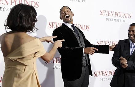 Will Smith en premiere de Seven Pounds