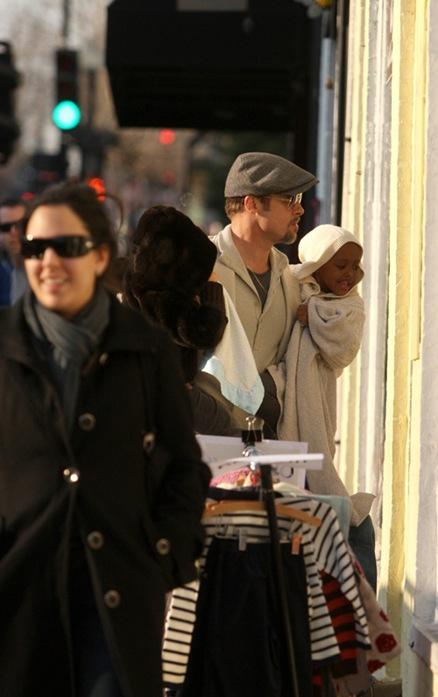 Brad Pitt, Zahara Pitt-Jolie