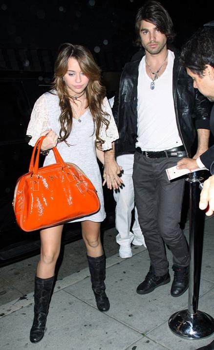 Fotos: Miley y Justin de la mano