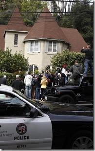 Domestic Disturbance At Lindsay Lohan's House