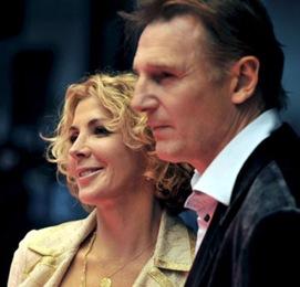 Natasha Richardson y su marido Liam Neeson, en una imagen de archivo