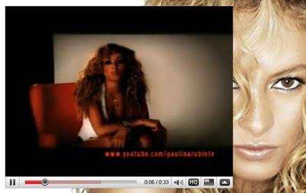 Nuevo videoclip de Paulina Rubio