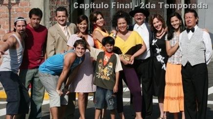 """Elenco de la serie """"Al fondo hay sitio"""" de Efrain Aguilar."""
