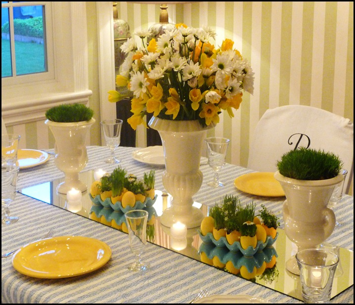 Easter table 2010 007