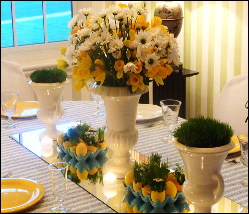 Easter table 2010 006