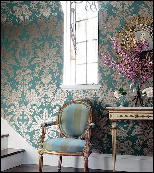 42365456b9ca[1] Thibaut Wallpaper Pattern Addison Damask CollectionRiver Road (532x600)