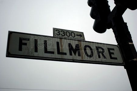Fillmore Street Sign