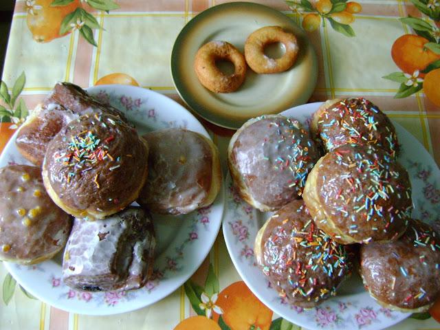 Shrove Thursday donuts