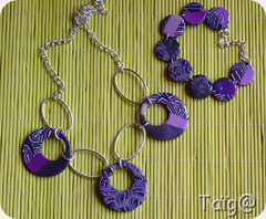 Parure Cane cervelle violets Jessy - Fév 2010