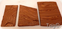 Plaques imitation bois résultat