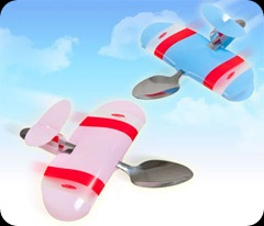 Baby Plane Spoons