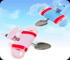Baby Plane Spoons