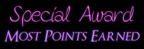 Special Award - Most Points Earned - JustAnotherPixel.net