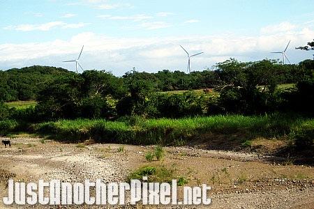 The Bangui Windmills from a distance - JustAnotherPixel.net