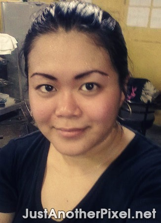 Sweaty me while taking a break after a round of badminton - JustAnotherPixel.net
