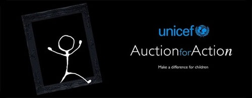 UNICEF Auction for Action - JustAnotherPixel.net