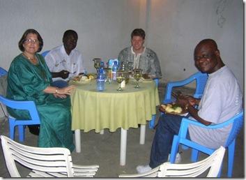 Ntumba family dinner