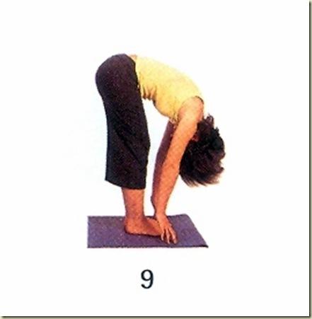 Yoga tipo 9 mudra 9
