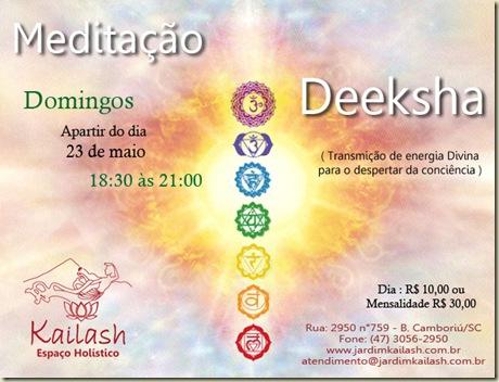 Kailash meditação e deeksha