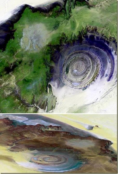 Paisagens 08 Erosão Richat da Mauritânia