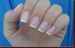 Unhas manchas brancas
