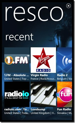 resco radio1