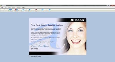 Xheader, создание шапки блога
