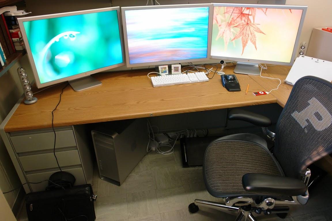 mac pro trzy monitory