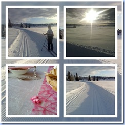 ski og dåp