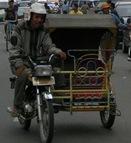 Becak Mesin Medan