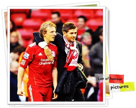 LFC lap of honour 10-11 pictures
