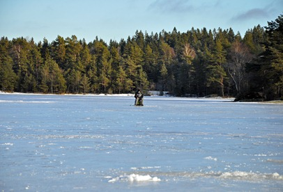 Tony Berg på Högsjön