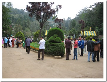 Ooty botanical Garden entrance