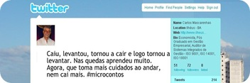 Microcontos Carlos