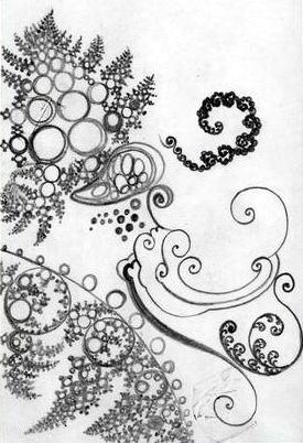 نقشه گلیم سنتی بوستان فرهنگ امین Amin,s culture garden - فراکتال توسط سید ...