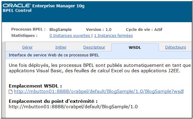 WSDL & Enpoint URI
