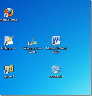 2012 godmode en windows 7 - Iconos para escritorio windows ...