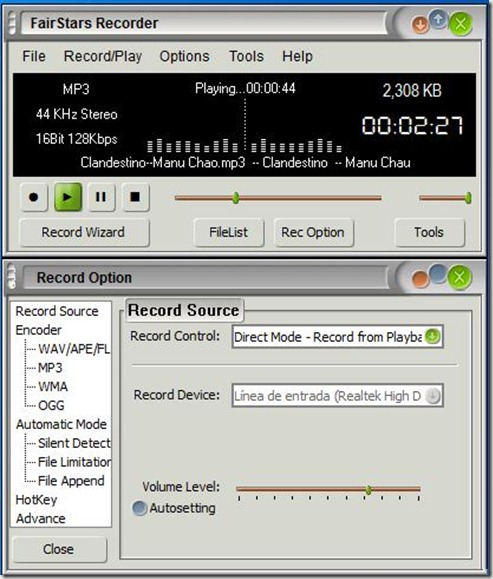 FairStars recorder 3.40