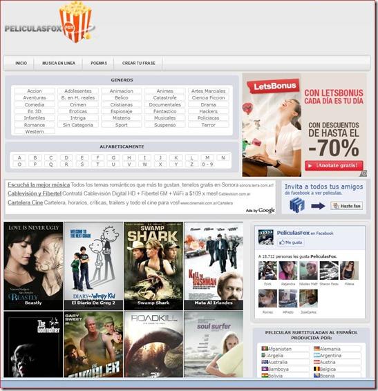 peliculasfox.com