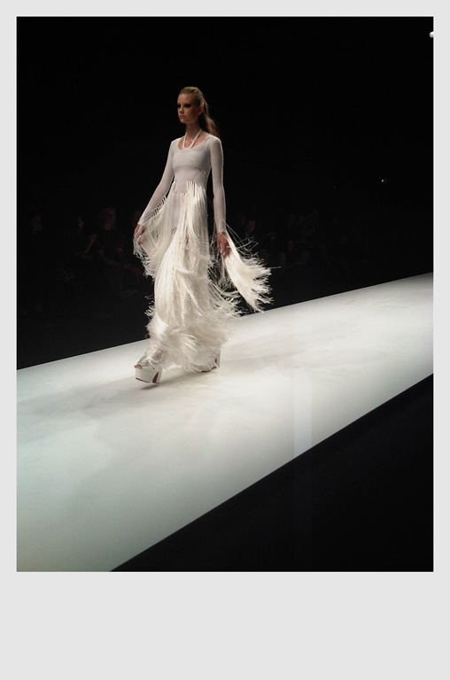 Mark Fast 'SS11 Runway White Dress