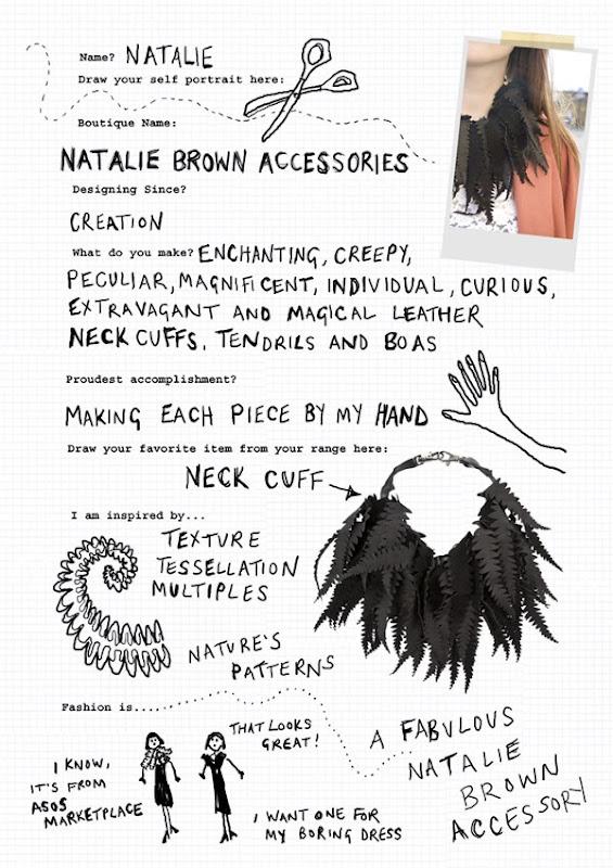 Natalie Brown Accessories Cheat Sheet