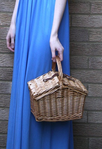 1950s basket bag by Its Vintage Darling - perfect for an impromptu picnic!
